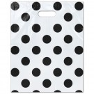 Punch Handle Carrier Bags Polka Dot