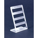 4 Tier Earring Display Frosted