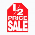 1/2 Price Sale Hanging Sign